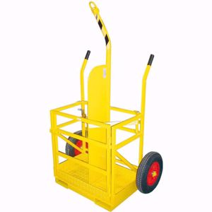 Picture of Welding Trolley 2 x Bottles with forklift and crane pickup and test cert